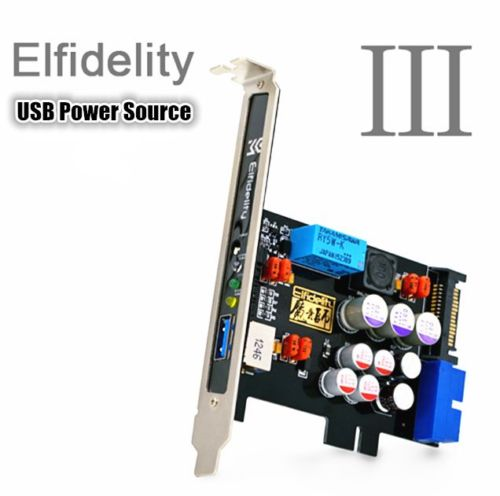 Elfidelity USB Power Source PC HiFi Preamp Internal Filter For USB Audio Device