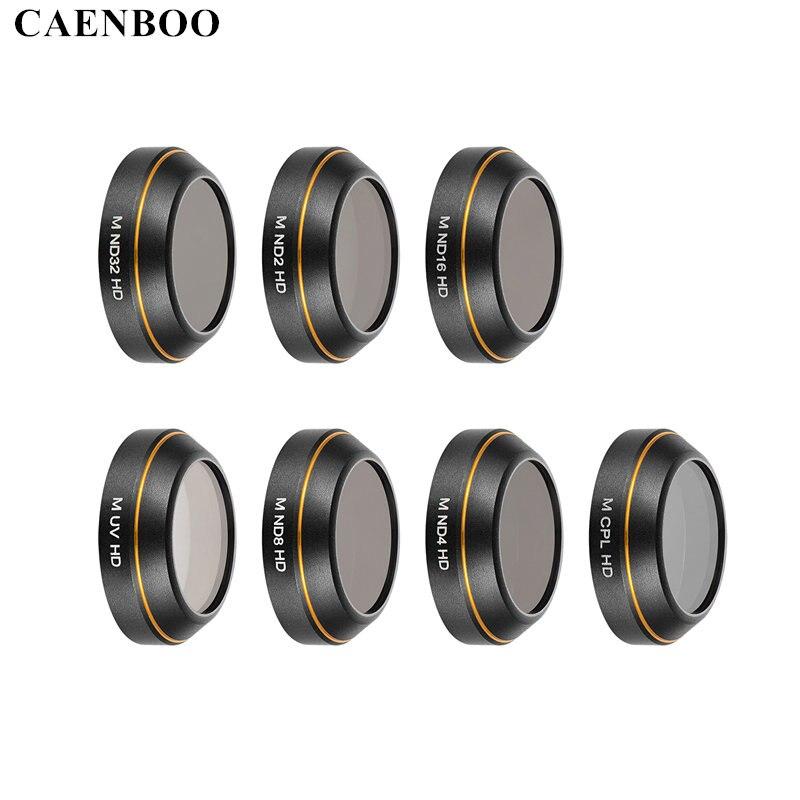 CAENBOO Für DJI Mavic Pro Objektiv-filter-schutz HD UV CPL Stern ND2 4 8 16 32 Filter Drone Für DJI Mavic Professionelle Zubehör