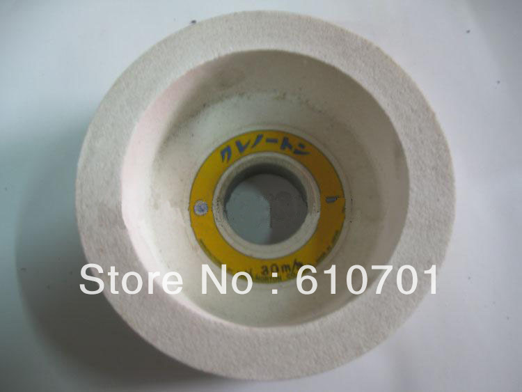 цена на 1pc 125mm Japan Type White Corundum Cup Grinding Wheels Abrasive Size 125/32/50/15mm Rotary Tools Sharpener