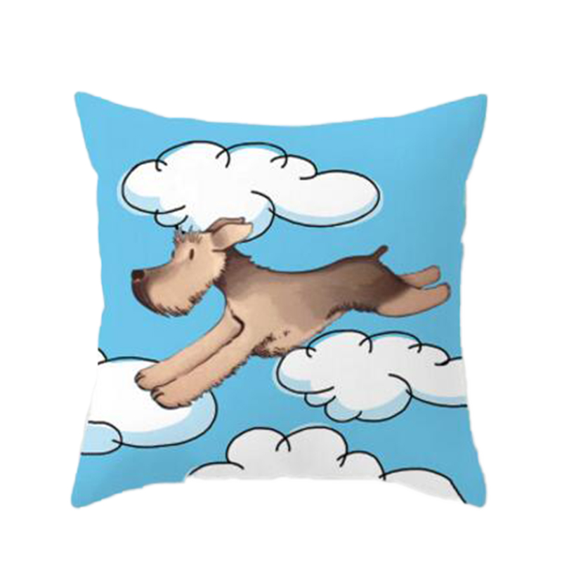 Cartoon Sofa Cushion Covers Pillow Case Covers for Office Room Couch Seat Cushion Case Home Decor Accessories Mother Kids Gifts
