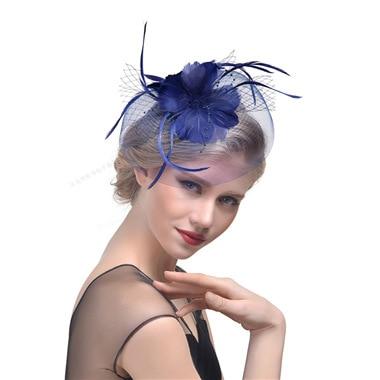 dd2fef5e72b 2018 Bridal Net Feather Hats White Red Black Birdcage Net Wedding Hats  Bridal Fascinator Face Veils Pearls Bride Hats-in Bridal Headwear from  Weddings ...
