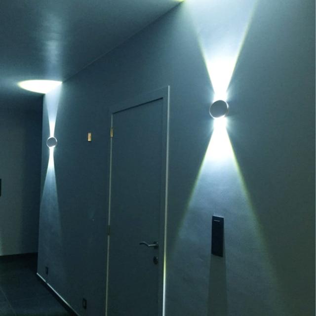3 W Led Mur Lumière Moderne En Aluminium Luminaire Mur Scones Pour