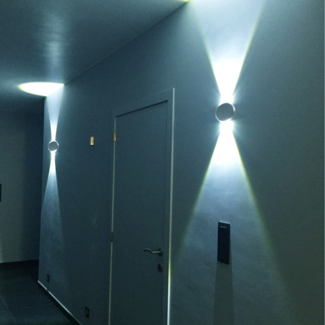3 W LED Mur lumi¨re Moderne En Aluminium luminaire mur scones pour