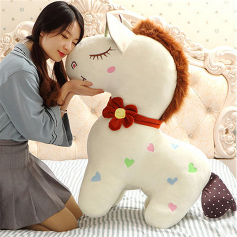 Fancytrader New Pop Horse Plush Toys Big Giant Stuffed Animals Horses Doll 90cm Gifts for Children власов александр иванович катрены