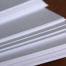 А4 300гр обычная белая матовая/глянцевая плотная бумага плотная бумага картон крафт бумага для изготовления открыток 2/10/30/50 листов