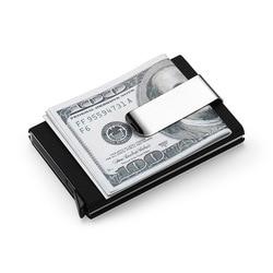 Hohe QualitId herren Brieftaschen kreditkarte halter Automatische karte sets business aluminium brieftasche karte sets bargeld clip halter