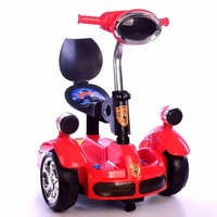 2.4 G bluetooth Remote Control Car Balance Motor Van Ride on Electric Toys Kids RC Ride on Car Five Wheels Bumper Scooter Car