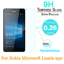 Tempered Glass For Microsoft Nokia Lumia 950 Screen Protector 9H Hard 2.5D 0.26m