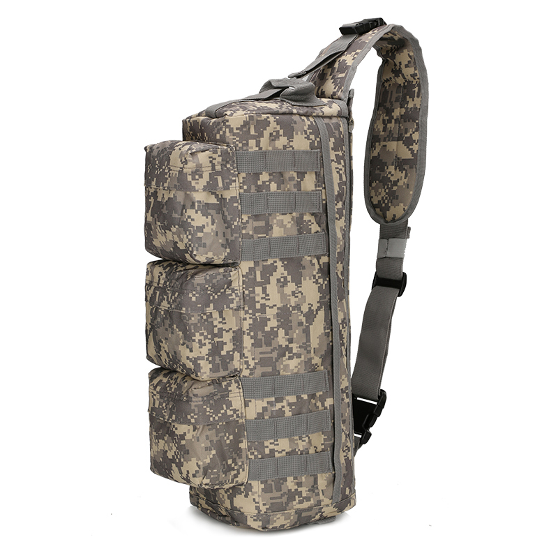 Army Military Hunting Camouflage Single Shoulder Cross Body Pack Outdoor Hiking Camping Tactical Bags For Men Women Sports & Entertainment