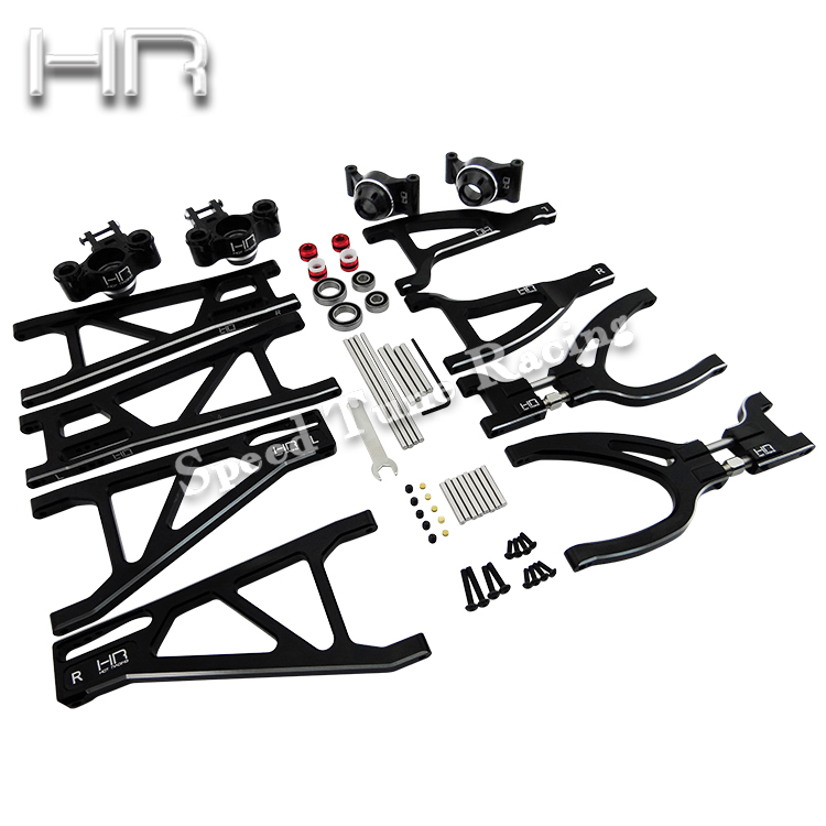 Hot Racing Traxxas Revo E Revo Complete Aluminum Suspension Arm Set RVO546712X01 delixi motor protector jd 5 1 80a phase 380v motor overload protection