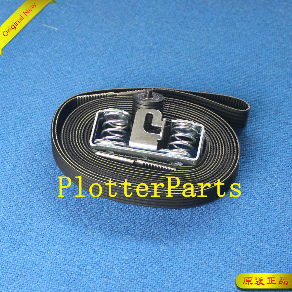 CQ869-67072 Q6652-60118 CQ111-67003 Belt and tensioner assembly 60 inch for HP Designjet D5800 Z6100 Z6200 L25500 L26500 L26100 new belt for hp z6100 z6200 25500 4000 4500 carriage belt designjet 4000 4500 4520 z6100 z6200 t7100 l25500 l26500 60 inch