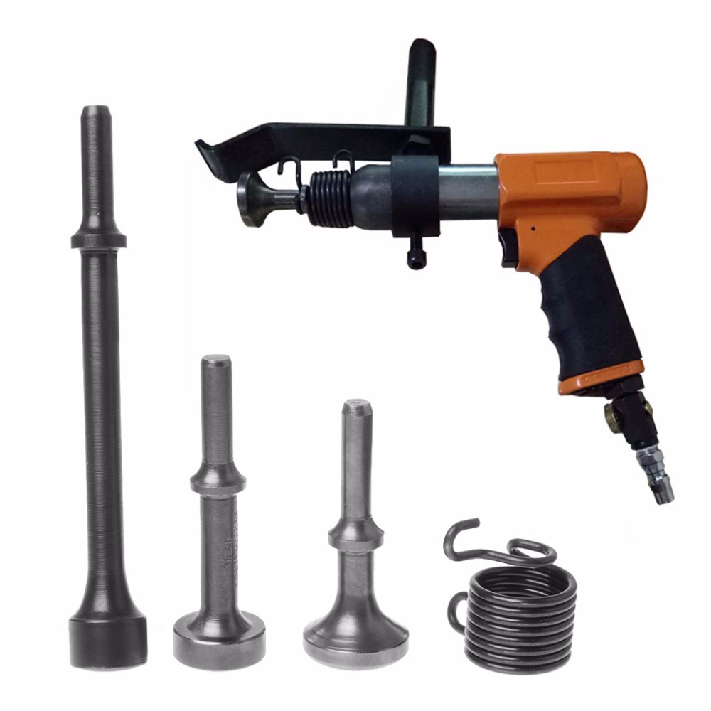 BENGU 3PCS Smoothing Pneumatic Air Hammer BitS Long Bit Tool &1* Spring Tire Repair  5AC800218