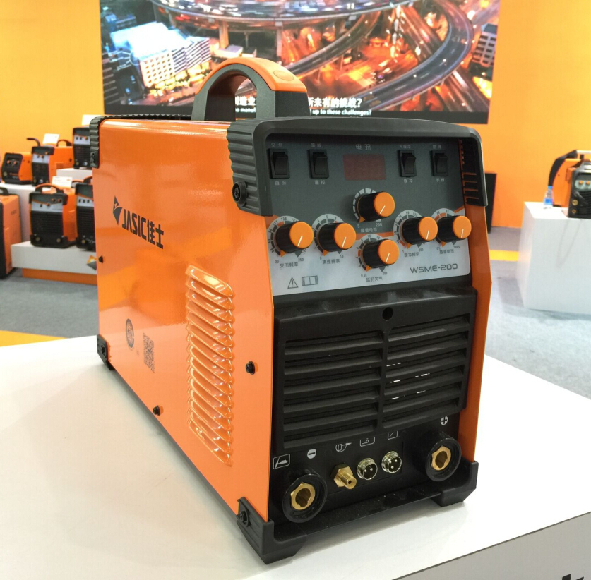 JASIC WSME 200 TIG 200P AC DC tig welding machine with accessories