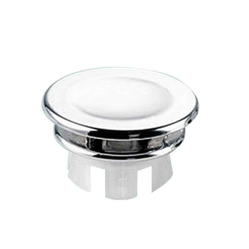 1Pc High Quality Bathroom Ceramic Sink Basin Round Ring Overflow Spare Cover Tidy Chrome Trim Wash basin Overflow Ring #20