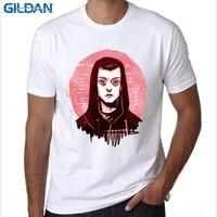 GILDAN Summer New Mr Robot T Shirts Men Fashion Fsociety Mask Printed T Shirt Short Sleeve