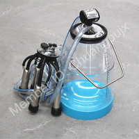High Quality Transparent Cow Portable Milk Bucket Milking System