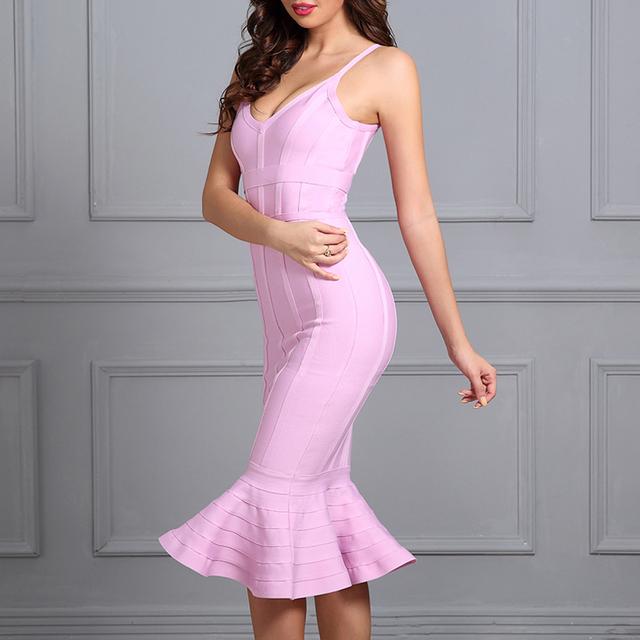 Sexy Midi Mermaid Lady Dress