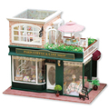 Doll house furniture miniatura diy doll houses miniature dollhouse wooden handmade toys for children birthday gift  A-028