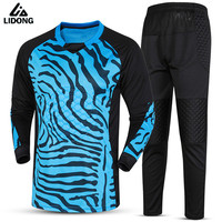New Survetement Football Jogging Uniforms Goalkeeper Training Suit Soccer Goal Keeper Jerseys Sets Doorkeepers Football Kits