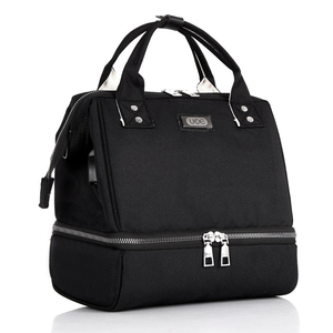Image 2 - USB Interface Baby Nappy Bag Mommy Maternity Shoulders Backpack Designer Diaper Nursing Bag with Thermal Insulated Bottle Pocket
