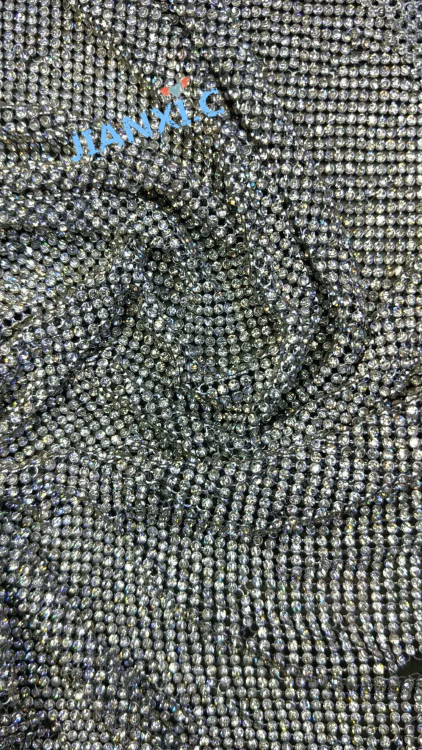 New arrival stones metal lace Fabric David 112831 Fashion Embroidered lace fabric