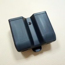Double-Magazine-Pouch Colt 1911 M92 Beretta Glock Hk Usp Sig P226 for 17-19 Universal