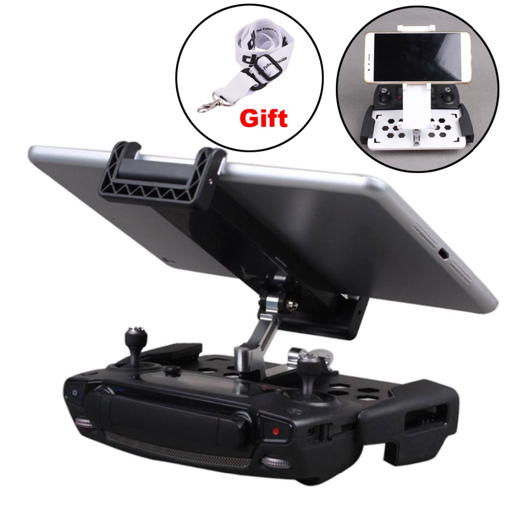 Tablet Bracket For DJI Mavic MiniPro Air  Spark Mavic 2 Zoom Drone Controller Monitor Clip Mount Phone Stent Holder Accessory
