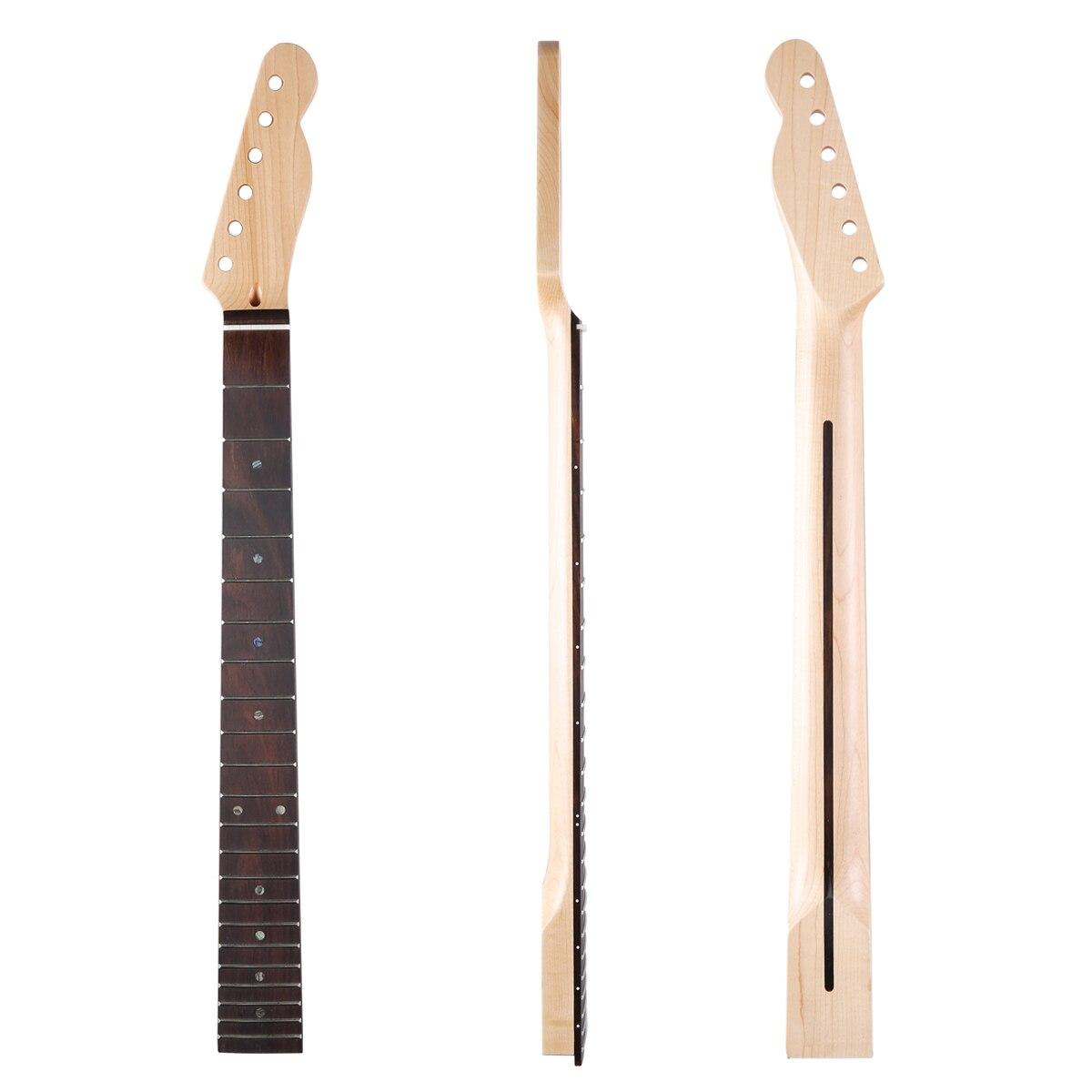 Dopro 22 Frette Canadienne Maple Tele Guitare avec Touche En Palissandre Abalone Inlay et Os Écrou pour Telecaster