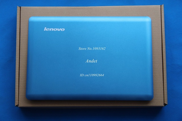 Новые Оригинальные для Lenovo Ideapad U410 LCD Задняя Крышка Дисплея Экран Чехол Синий Цвет NO Touch Металла 3CLZ8LCLVF0 90202985
