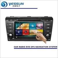 YESSUN For Mazda 3 2008~2013 Car Radio CD DVD Multimedia Player Amplifier Screen GPS Navigation NAVI WINCE Audio Video System