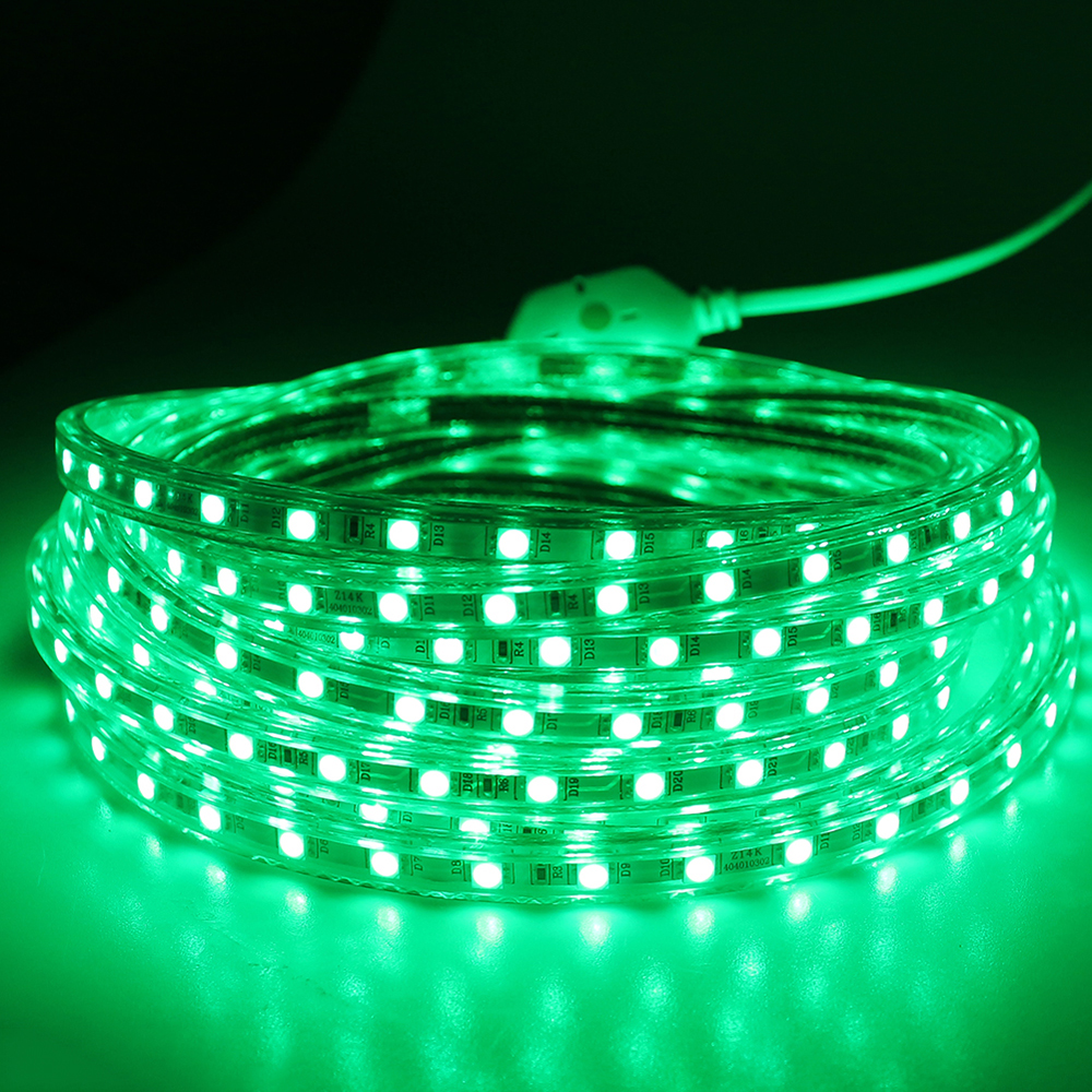 Tiras de Led smd 5050 220 v ao Waterproof : Ip67 Grade