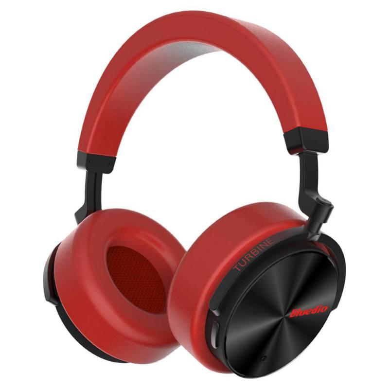 Bluedio T5 casque anti-bruit actif écouteurs sans fil Bluetooth casque avec micro pour téléphones portables et écouteurs de Sport