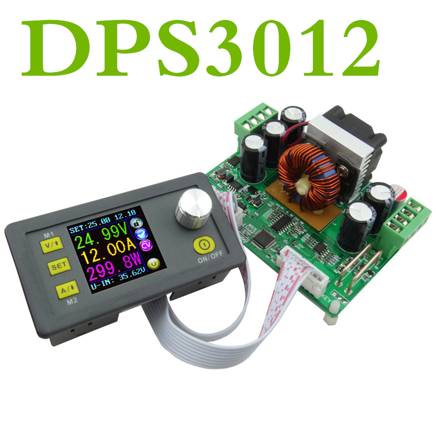 DPS3012 DC30V/12A Step-down Programmable control Power Supply module buck Voltage converter  Constant Voltage current voltmeter