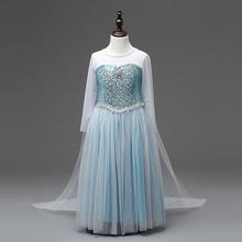 Fille Robes Cendrillon Princesse robe Enfants Vêtements Anna Elsa De Noël Cosplay Costume de Partie de L'enfant Bébé Filles Vêtements