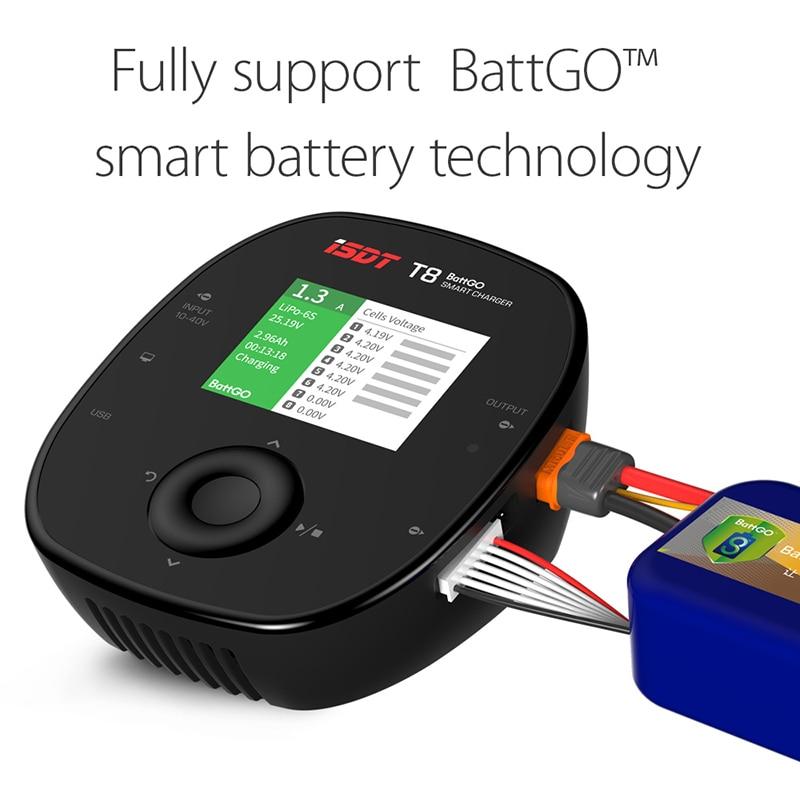 ISDT T8 BattGo 1000W 30A Smart ბატარეის - დისტანციური მართვის სათამაშოები - ფოტო 4