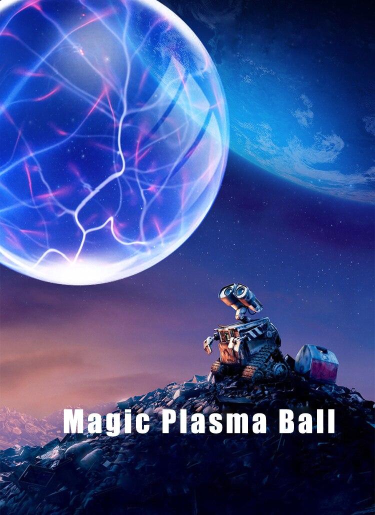 Nieuwigheid Huishoudelijke Plasma Bal lamp Lightning Verlichting ...