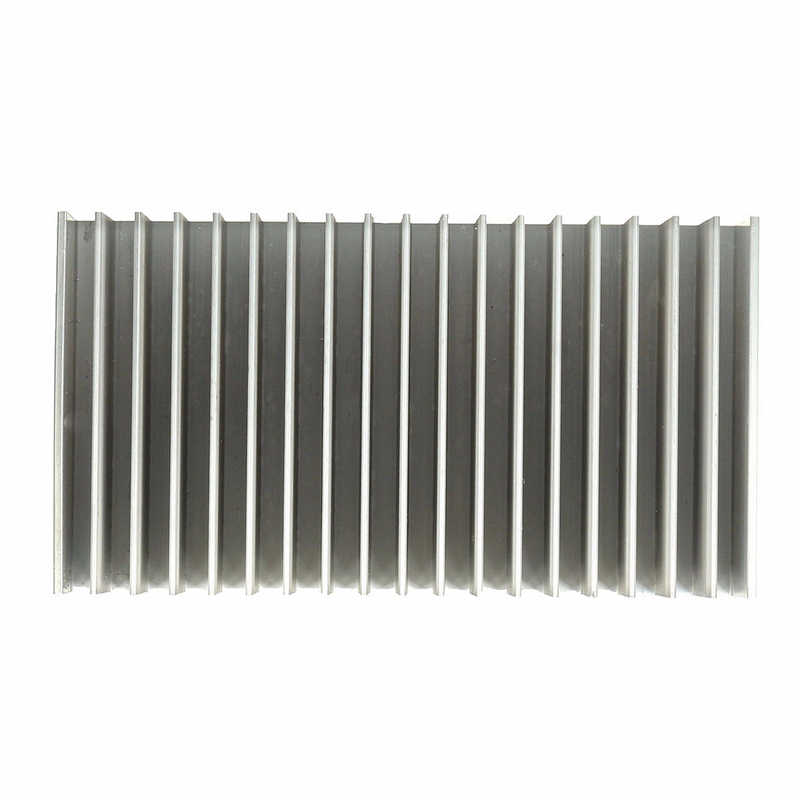 1 قطعة 182x100x45 مللي متر الألومنيوم الحرارة بالوعة الحرارة بالوعة لارتفاع السلطة الصمام مكبر للصوت الترانزستور برودة لمختلف لوحة دوائر كهربائية