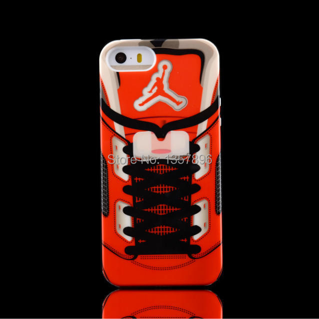 cheap for discount d9b7b 79663 US $6.8 |Cool Plastic Case i5S 3D Basketball Shoe Laces Rubber Shell  Jumpman Phone Cases Back Cover For iphone 5 Funda Carcasa Capa on  Aliexpress.com ...