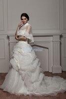 Free Shipping 2013 Elie Saab New Design Arabic Dress Custom Color Size Bridal Gown Jacket Good