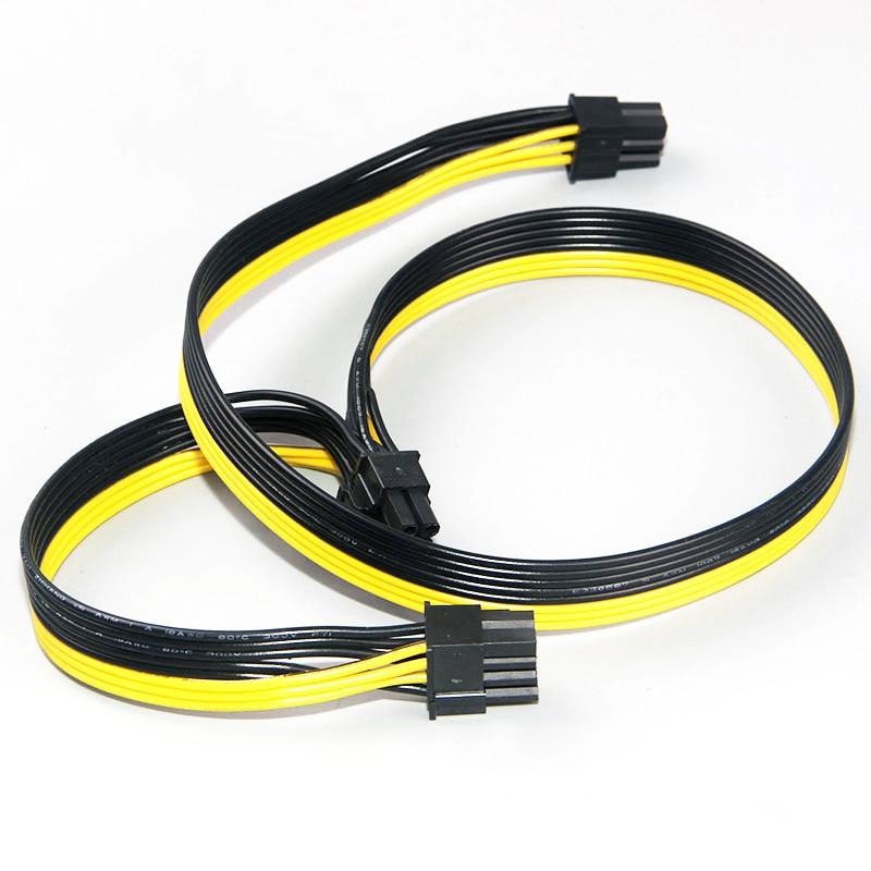 Модульный блок питания, кабели PCI e Molex 6pin к 2 PCI-e 8 pin 6 + 2pin PCI Express, внутренний сплиттер питания, ленточный кабель