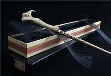 2019 High Collection Harry Gellert Grindelwald Magic Wand Metal Core Ribbon Box Hogwarts Free Train Ticket