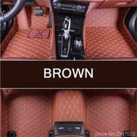 Custom car floor mats for CHEVROLET all modles Trax Tahoe Equinox Orlando silverado Traverse Spark automobile carpet cover