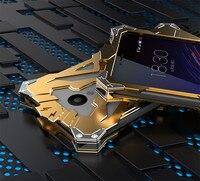 Simon Case For Meizu M5 Mini 5 2 THOR IRONMAN Shockproof Metal Back Cover Aluminium Frame