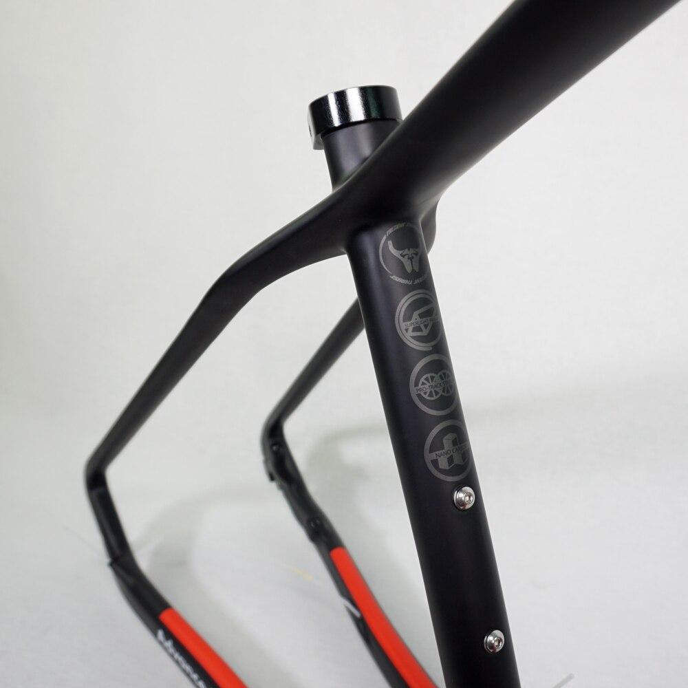 Image 5 - Carbon Mountain Bike Frame 29er THRUST Chinese Carbon mtb Bicycle Frame T1000 Carbon Fibre Frame Bike 29er carbon frame 27.5er-in Bicycle Frame from Sports & Entertainment