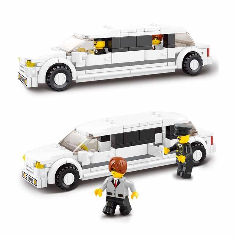 135 шт. Legoings VIP автомобиль дети просветить DIY Модели Строительные Кирпичи Строительные блоки маленькие игрушки подарки