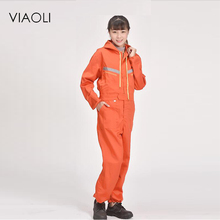Viaoli New Arrival Men Hooded work wear jumpsuit Mens Workwear Cargo Pants Repairman Jumpsuits Male Suspenders Uniform Overalls