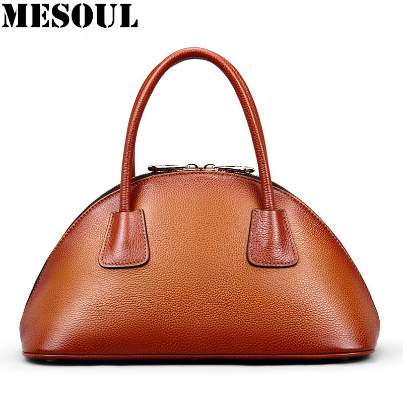 Designer Genuine Leather Bags Female Luxury Women's Handbags Shoulder Bag Real Leather Shell Tote Bag sac a main femme de marque italian fashion top handle bags luxury handbags women bags designer patent leather shoulder bag canta sac a main femme de marque