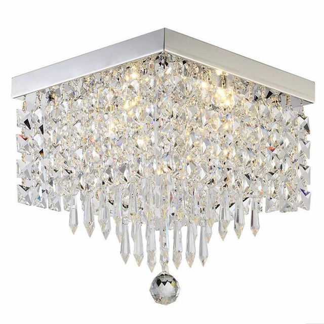 Manggic crystal Led Ceiling Lamps Square Ceiling Lamp for Corridor Ladder Corridor Lights Table  Lamps