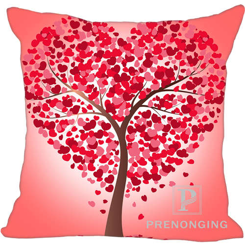 one Side Just Custom Pillowcase Cover Pink Tree Life Square Zipper Pillow Cover Print Your Pictures 20x20cm,35x35cm 171203#10-08 Convenient To Cook