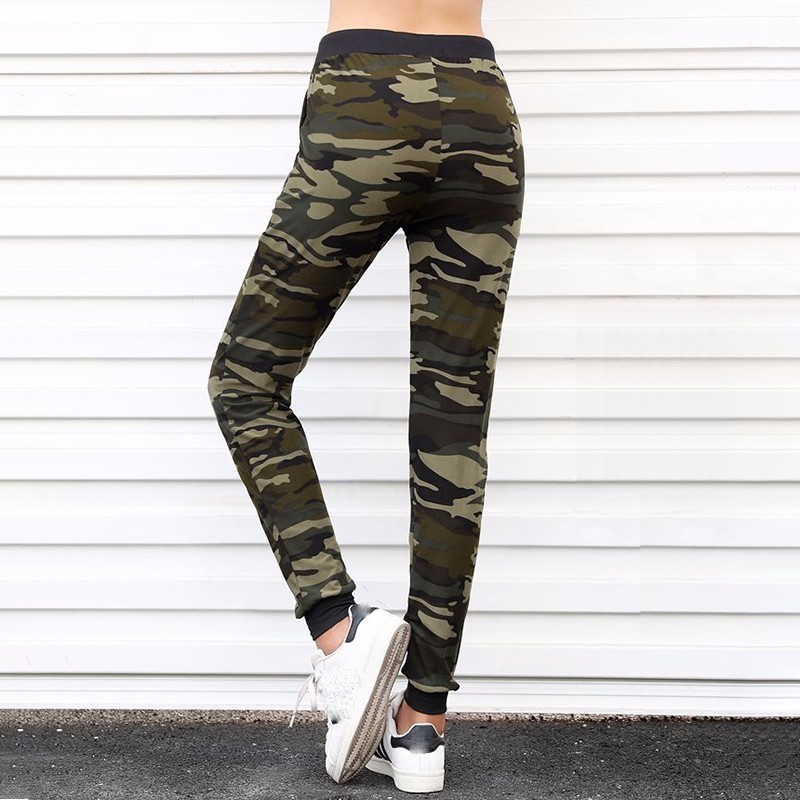 Camouflage Jogger Harem Loose Long Pants With Pockets 2